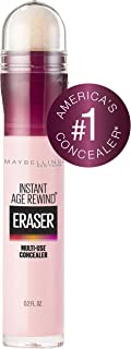 Maybelline Instant Age Rewind Eraser Dark Circles Treatment Concealer, Brightener, 0.2 Fl Oz (1 Count) (Packaging May Vary)