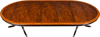NDRT045 Oval Mahogany Dining Table by NIAGARA FURNITURE