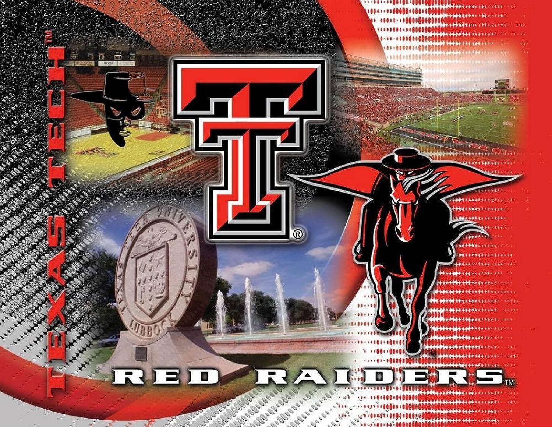 Holland Bar Stool NCAA Texas Tech Red Raiders 15x20Inch Printed Canvas