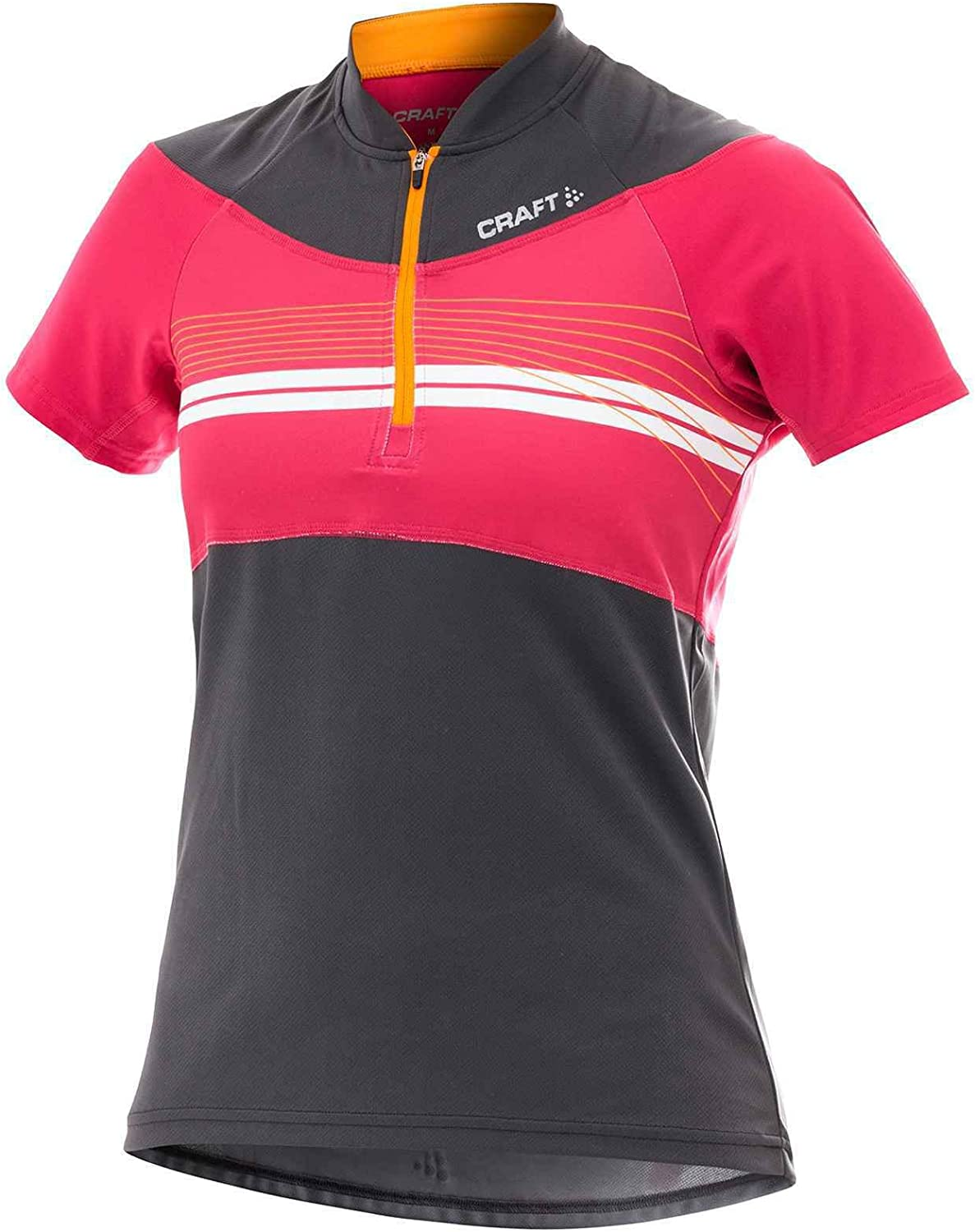 Craft Active Bike Loose Fit Jersey Black Red