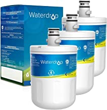 Waterdrop 5231JA2002A Refrigerator Water Filter, Replacement for LG LT500P, GEN11042FR-08, ADQ72910911, ADQ72910901, Kenmore 9890, 46-9890, LFX25974ST, LMX25964ST, LSC27925ST, 3 Pack, Packing May Vary