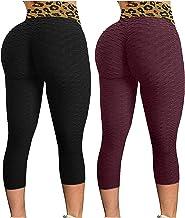 Vrouwen Mode Print Yoga Broek Plus Size Casual Hoge Taille Sport Scrunch Butt Leggings Voor Lift Workout Naadloze Compress...
