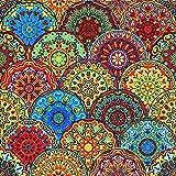 20 servilletas góticas, ornamentos, símbolos, 33 x 33 cm