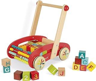 comprar comparacion Janod - Andador ABC Buggy, Tatoo de 30 Cubos (J05379)