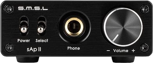 SMSL SAP-II PRO Headphone Amplifier Portable High Fidelity AMP 3.5mm/RCA 6.35mm Black