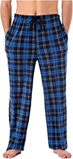 Harvey James Men's Check Fleece Pyjamas Bottoms