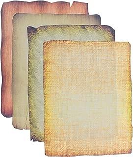 Roylco Antique Design Craft Paper; Assorted Colors/Designs, 64 Sheet Pack