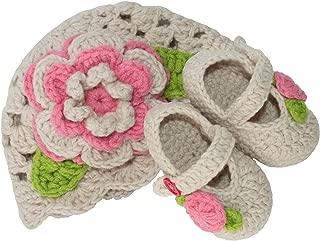 Infant Crochet Socks Bootie Slipper Shoes - Newborn to 3 Months