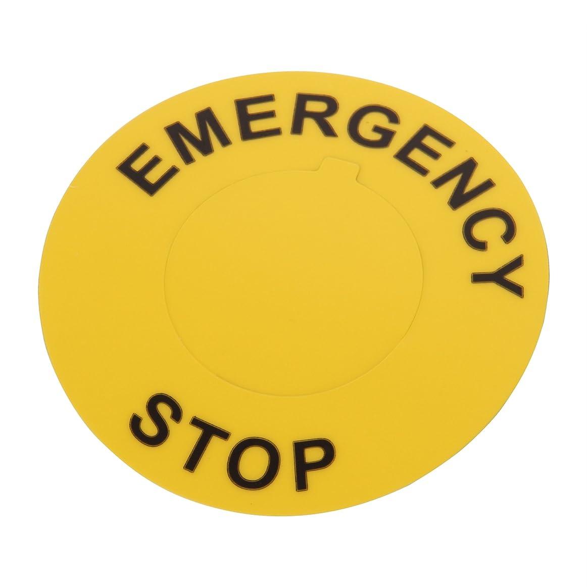 菊居心地の良い犬パンドウイット 非常停止ボタン用ラベル C235A8-30-ES