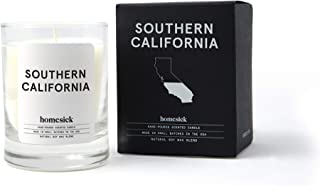 Homesick Mini Scented Candle (10 to 12 hr Burn Time) Home, 1.5 oz, SoCal