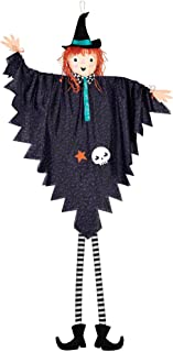 Hanging Witch Decoration, 7'- 1 pc.