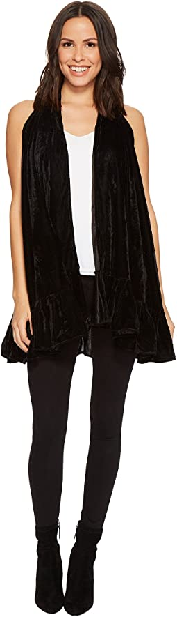 Collection XIIX - Velvet Ruffle Vest