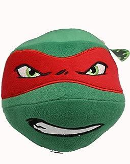 Nickelodeon Teenage Mutant Ninja Turtle Head Plush Ball (Raphael)