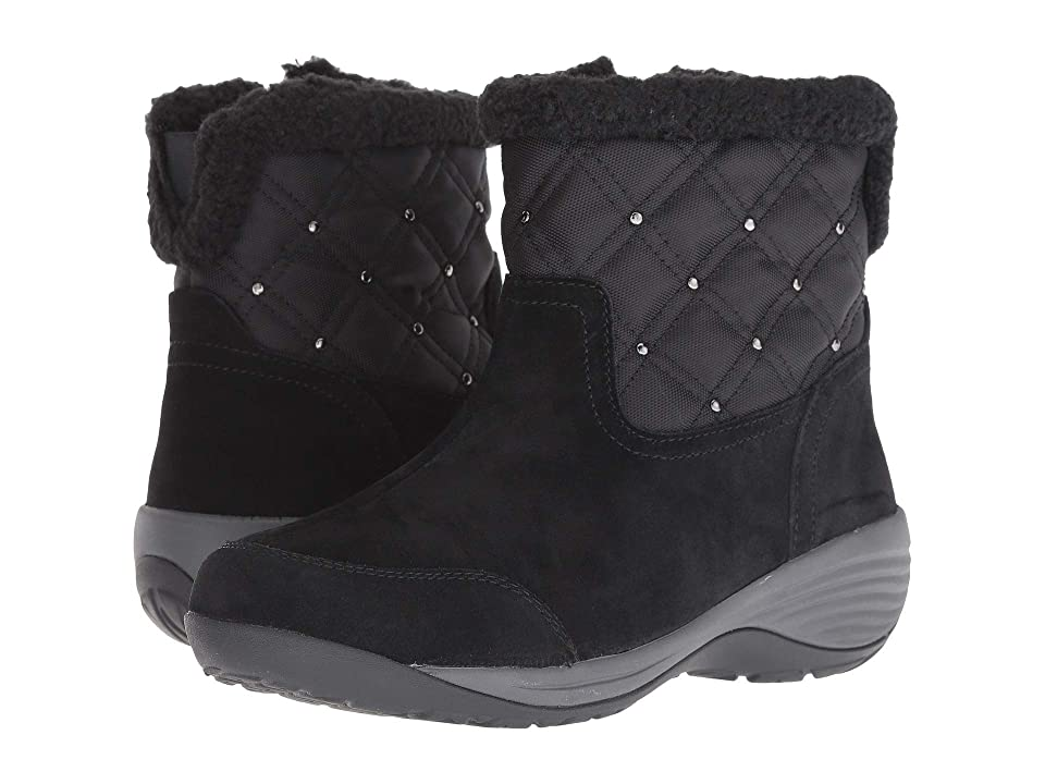 Easy Spirit Iwander (Black/Black/Black) Women