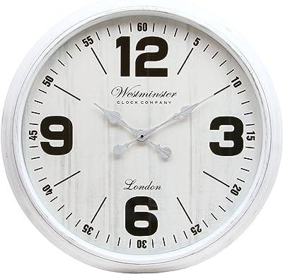 不二貿易(Fujiboeki) 掛け時計 ホワイト 直径76.2cm ジュピター 27265