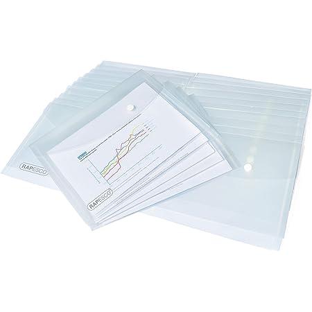 Rapesco 1500 Pochettes Porte-documents A5 Transparent - Pack de 25