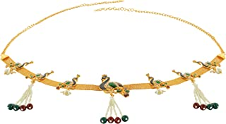 Handicraft Kottage Gold Metal Belly Waist Chain, Kamarbandh for Women