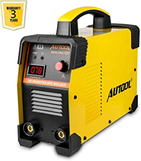 AUTOOL EWM-508 ARC-200 DC Inverter Welder, 20-160Amp IGBT Welding Machine Kit, AC 110V/220V Dual Voltages Portable Electric Welder