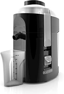 Extractor de jugo Black + Decker para frutas y hortalizas, 400W, negro, modelo JE2200B