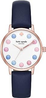 Kate Spade Women's Metro Three-Hand Rose Gold-Tone Alloy Watch KSW9027