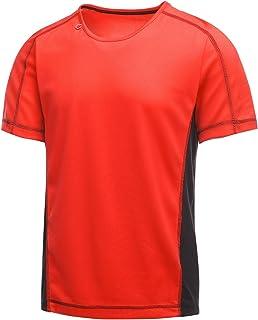 Regatta Activewear Mens Beijing Short Sleeve T-Shirt (XXL) (Classic Red/Black)