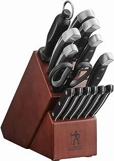 J.A. Henckels International Statement 14 Piece Cutlery Set + Dark Wood Block