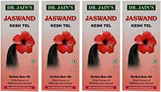 Dr. Jain's Jaswand Kesh Tel - 200Ml (Set Of 4)