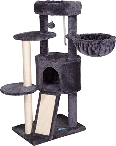 wholesale Hey-brother Multi-Level Cat Tree Condo online Furniture with Sisal-Covered Scratching Posts for Kittens, Cats and popular Pets outlet online sale