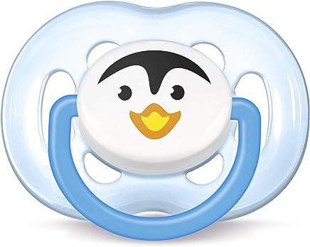 Chupeta Free Flow Pinguim, Philips Avent, Azul