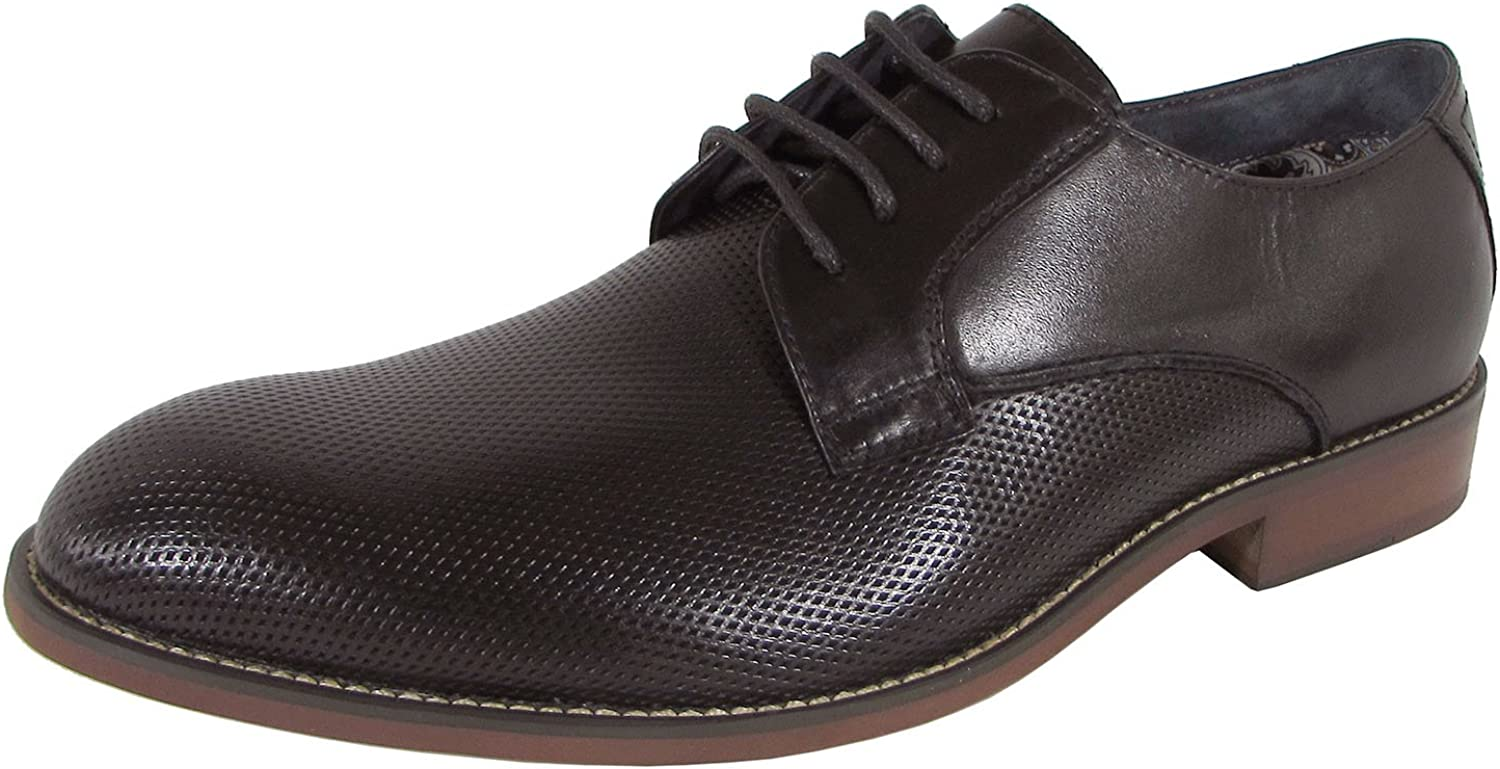 Steve Madden Mens P-Isomer Oxford Lace Up Dress Shoes