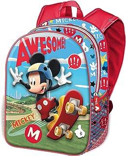 37445 Mickey Mouse Skater - Mochila 3D (Pequeña)