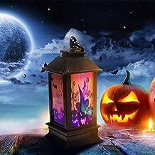 Shan-S Halloween Night Light,Halloween Atmosphere Decorative Props Plastic Glowing Lighthouse Night Lights for Patio, Garden, Gate, Yard, Home Bar,Halloween Christmas Decoration