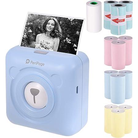 Aibecy Peripage Mini Handydrucker Fotodrucker Bt Computer Zubehör