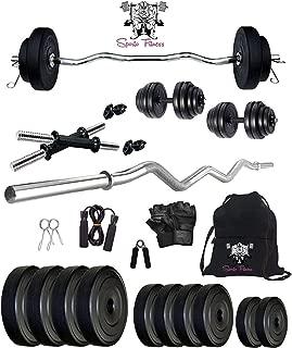 Sporto Fitness Home Gym Set 6 Gym Set (Black)