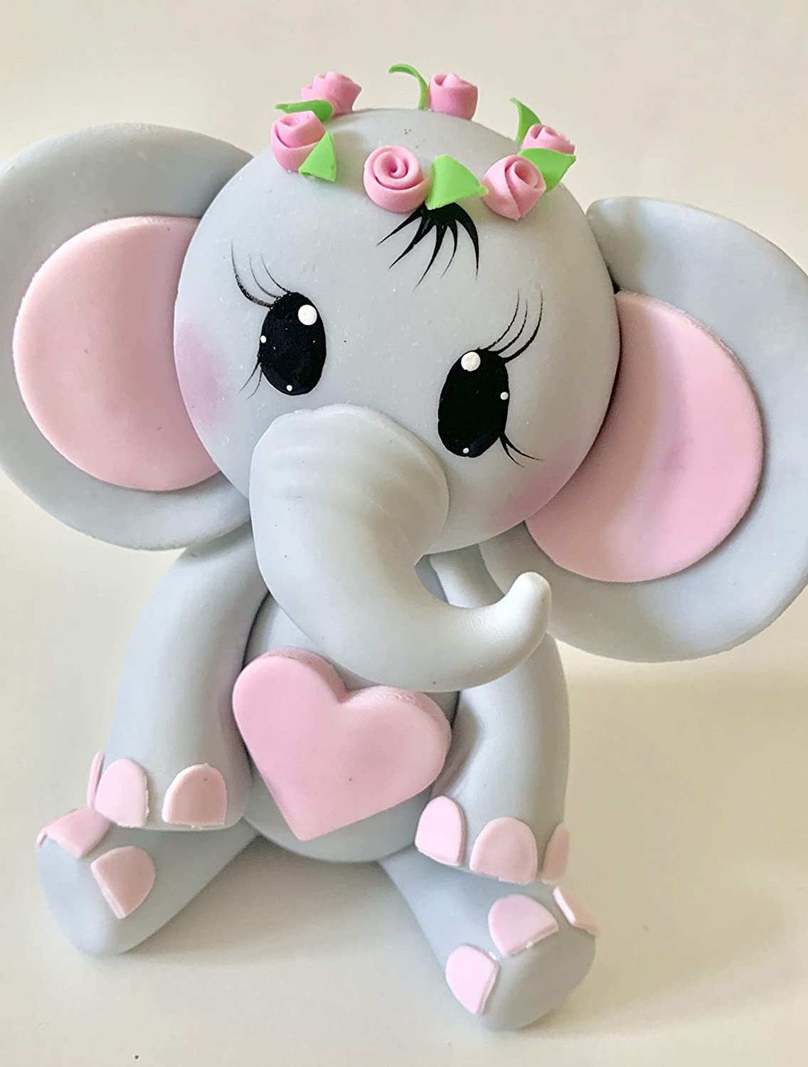 Purchase Elephant with flower crown wreath. Inexpensive