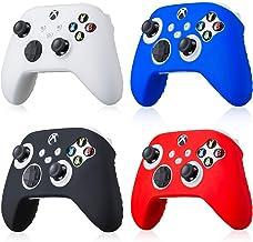 Pacote com 4 capas de silicone para controle Xbox Series X/S