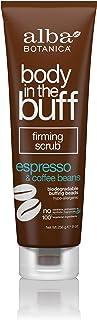 Alba Botanica Body in the Buff Espresso & Coffee Beans Firming Scrub, 9 oz. (Pack of 6)