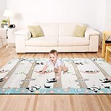 Bammax Alfombra de Niños Juego Bebé Niños Playmat Colchoneta de Juegos Plegable para Bebés Patrón de Panda