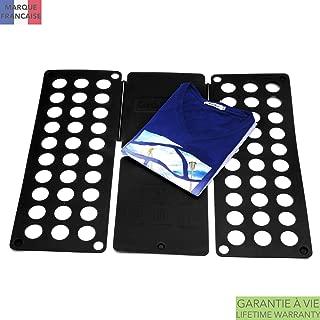 Takit Tabla para Doblar Ropa Negro - 70x59cm - Tabla para Doblar Camisas - Tabla para Doblar Vestidos Pantalones Toallas Camisetas/Organizador De Ropa