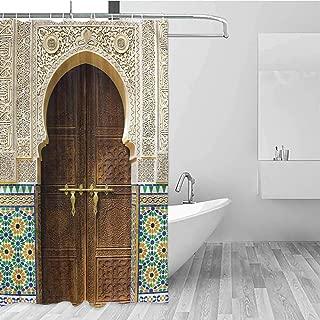 Shower Curtain, Modern Water-Resistant Bath Liner for Master Bathroom, Kid's Bathroom, Guest Bathroom, 84 inch Extra Long, 36