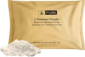 Sponsored Ad - L-Theanine Powder (8 oz, 1/8 TSP per Serving) by Pure, Pure, Immunity Boosting, Vegan, Non-GMO, Gluten-Free...