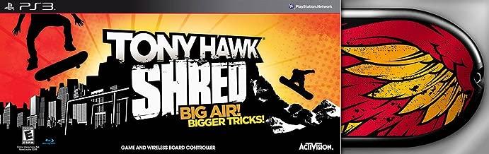 tony hawk shred bundle ps3