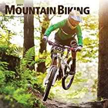 Mountain Biking 2021 12 x 12 Inch Monthly Square Wall Calendar, Extreme Bicycle Sport