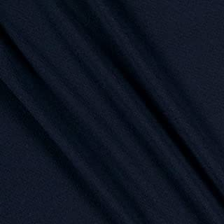 Lavitex Liverpool Pique Knit Fabric, Navy, Fabric By The Yard