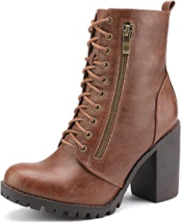 Women's Chunky Heel Ankle Booties