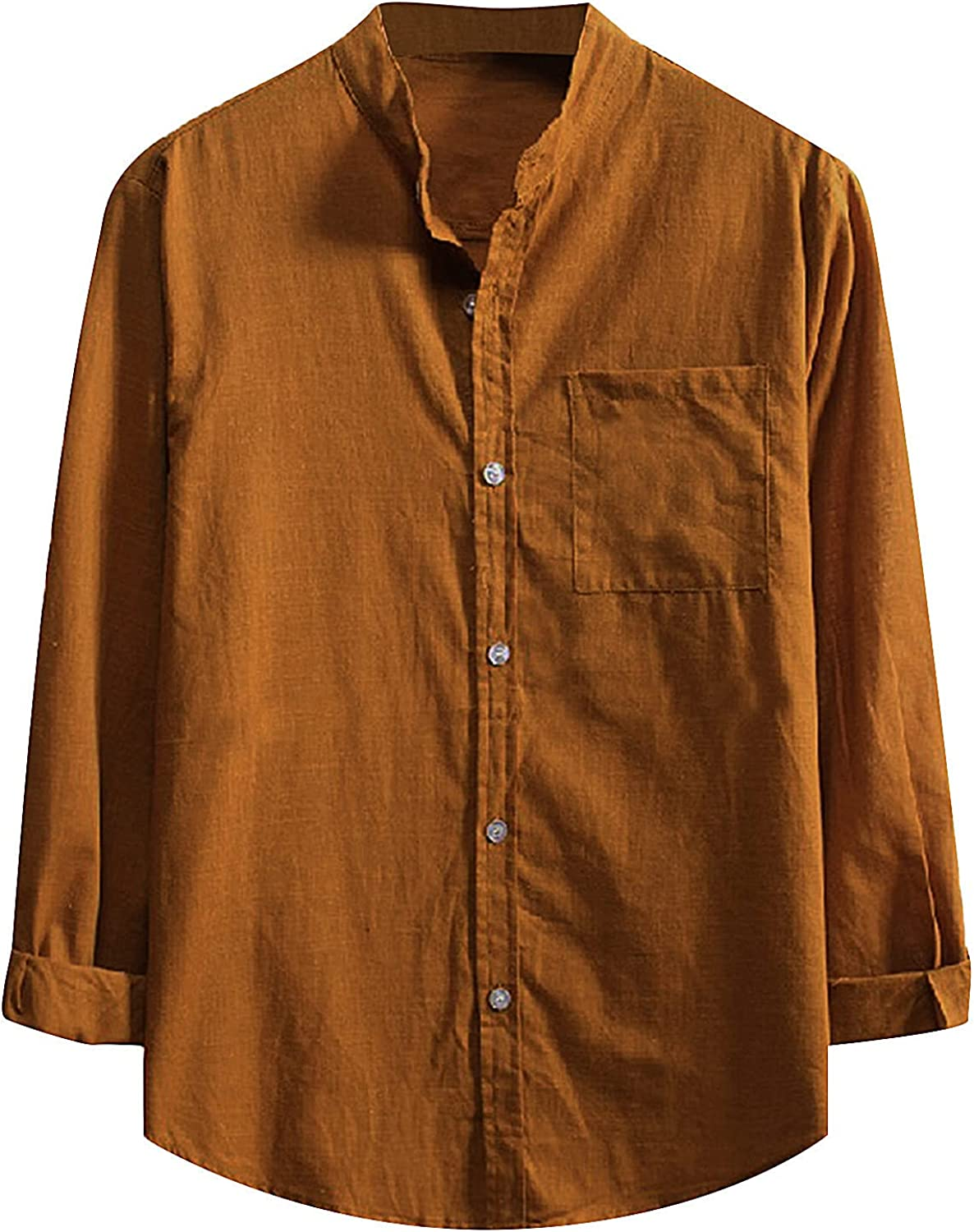 Mens Vintage Flannel Button Down Shirts Classic Color Block Long Sleeve Lightweight Sweatshirts Flannel Jackets