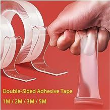 Superlijm 3/2 / 1M Home Herbruikbaar Dubbelzijdig Plakband Waterdichte Nano Traceless Tape Transparante Verwijderbare Stic...