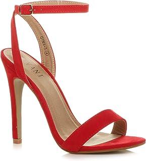 nuovo di zecca ddf8a efd94 Amazon.it: scarpe rosse tacco - Scarpe da donna / Scarpe ...