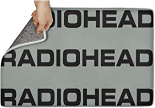 LONGERDAY Kids Room Radiohead-Logo- Mat Inside Floor Machine-Washable 31