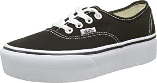 Vans Women's Authentic Platform 2.0 Trainers, Black (Black Blk), 5 UK 38 EU